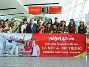Vietjet Air effectue son premier vol sur la ligne Hanoï - Taichung