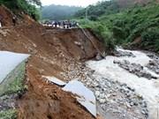 Crues et glissements de terrain font 19 morts, 11 disparus à Lai Chau et Ha Giang