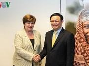 La BM et le FMI s'engagent à aider le Vietnam dans le développement économique