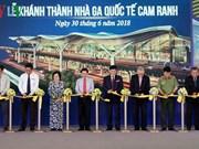 L'aéroport international de Cam Ranh se dote d'un nouveau terminal