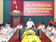 Le PM recommande trois piliers pour l'économie de Thai Nguyên