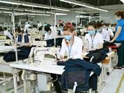 Les exportations de textiles et de vêtements en hausse de 14% en six mois