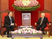 Le secrétaire général Nguyen Phu Trong reçoit le secrétaire d'Etat américain