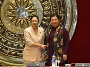 Des parlementaires vietnamiennes et japonaises plaident pour le  partenariat stratégique