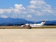 Premier vol de calibration à l'aéroport de Van Don