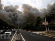 Incendies de forêt en Grèce: message de sympathie au président grec Prokopis Pavlopoulos