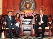 HCM-Ville promeut la coopération avec les localités japonaises