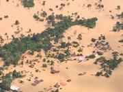 Barrage effondré au Lao : aides étrangères pour les sinistrés