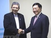 Le vice-PM Pham Binh Minh rencontre ses homologues en marge de l'AMM-51