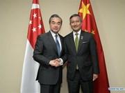 La Chine et Singapour conviennent de soutenir le multilatéralisme et le libre-échange