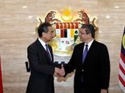 Les ministres des AE de Chine, des États-Unis et d'Australie en visite en Malaisie
