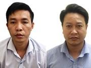 Tricherie au bac à Hoa Binh : deux personnes placées en détention provisoire