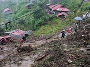 Lai Chau : Des glissements de terrain font 6 morts et 4 disparus