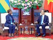 Le Vietnam souhaite approfondir ses relations avec le Rwanda et la Guinée