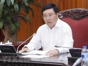 Les officiels font le point sur les préparatifs du WEF ASEAN