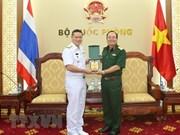 Les marines vietnamienne et thaïlandaise coopèrent sur l'hydrographie