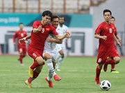 Football : le Vietnam bat le Pakistan aux ASIAD 18