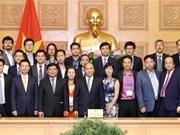 Le PM engage les Viêt kiêu à participer au développement scientifique et technologique au Vietnam