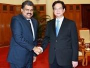Vietnam et Inde coopèrent dans le transport maritime
