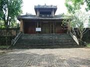 Hue : restauration du tombeau du roi Dong Khanh