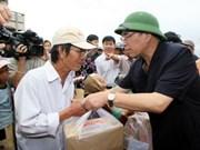 Crues : Nong Duc Manh en mission à Binh Dinh