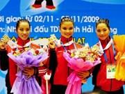 AIG 3: le Vietnam décroche sa 24è médaille d'or jeudi