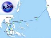 Mise en service d'un câble reliant l'Asie aux Etats-Unis
