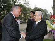 Le Vietnam apprécie son partenariat avec la Belgique