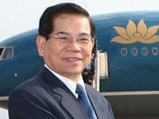 Nguyen Minh Triet rencontre les dirigeants algériens