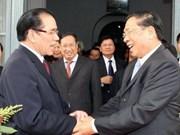 La presse laotienne salue la visite du leader du PCV