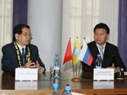 Le chef d'Etat vietnamien en visite en Kalmoukie