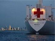 Le navire-hôpital USNS Mercy termine sa mission