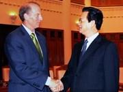 Le PM vietnamien reçoit un officiel américain