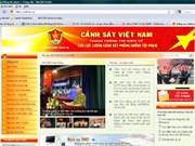 Création d'une page web sur la lutte anti-criminalité