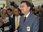 Le PM thaïlandais en visite au Laos