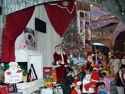 Noël s'empare de Hanoi de toutes couleurs