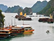 La baie d'Ha Long dans le Top 10 des excursions à la voile