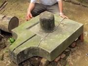 Découverte des vestiges d'un ancien temple Cham à Quang Ngai