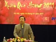 """Un millier de Viet kieu pour le """"Printemps au pays natal 2011"""""""
