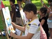 Hanoi : remise des prix du concours de dessins des enfants
