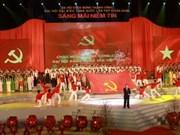 Gala artistique en l'honneur du succès du Congrès du PCV