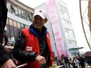 L'acteur martial chinois Jet Li au Vietnam