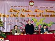 Tet: le Comité central du Front de la Patrie rencontre des Viet kieu