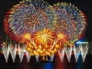 Concours de feux d'artifice à Da Nang