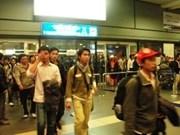 Près de 200 travailleurs rapatriés en sécurité au Vietnam