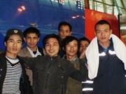 Environ 2.800 travailleurs vietnamiens rapatriés de Libye