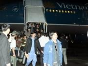 Près de 8.500 travailleurs en Libye de retour au Vietnam