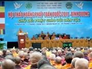Clôture du séminaire sur la prédication du Dharma