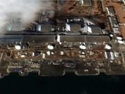 Fukushima: incendie au réacteur 4