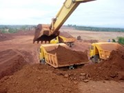 Début de l'exploitation du gisement de bauxite de Lam Dong